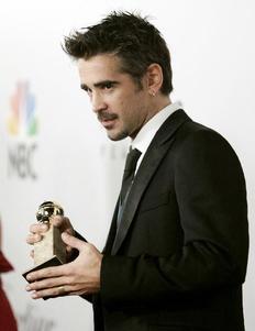 Ο Κόλιν Φάρελ κέρδισε το βραβείο πρώτου ανδρικού ρόλου σε κωμωδία για την ερμηνεία του στην ταινία In Bruges.