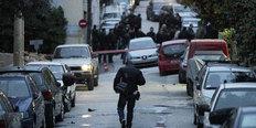 Φωτογραφία από το σημείο της αιματηρής συμπλοκής στο Βύρωνα