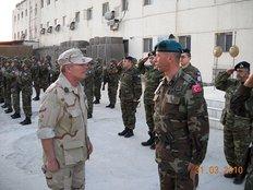 Το Αφγανιστάν επισκέπτεται ο Αρχηγός του Γενικού Επιτελείου  Εθνικής Άμυνας Πτέραρχος Ιωάννης Γιάγκος, από τις 30 Μαρτίου έως τις 2  Απριλίου 2010.