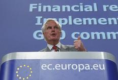 Την τυχόν ανάμειξη κερδοσκόπων στην αγορά των ασφαλίστρων κινδύνου για τα ελληνικά ομόλογα (CDS) ερευνά η Κομισιόν, όπως ανακοίνωσε ο αρμόδιος για την Εσωτερική Αγορά και τις Υπηρεσίες Επίτροπος Μισέλ Μπαρνιέ.