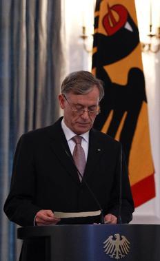 Ο παραιτηθείς πρόεδρος της Γερμανίας, Χορστ Κέλερ