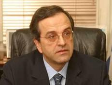 Ο αρχηγός της Αξιωματικής Αντιπολίτευσης Αντώνης Σαμαράς