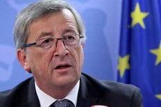 Ο πρόεδρος του Eurogroup Ζαν Κλοντ Γιούνκερ