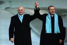 Συνάντηση με τον Τούρκο ομόλογό του Ταγίπ Ερντογάν είχε στο  Ερζερούμ ο Πρωθυπουργός Γιώργος Παπανδρέου