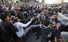 Από τη μεγάλη διαδήλωση που έγινε σήμερα στο Κάιρο