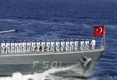 Τουρκική φρεγάτα έφασε στην Εϋβοια (φωτό αρχείου)