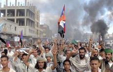 Χιλιάδες άτομα διαδήλωσαν στην Υεμένη κατά του προέδρου.