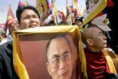 Ο ανηψιός του Δαλάι Λάμα σε παλαιότερη πορεία στις ΗΠΑ