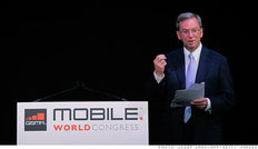 ο πρόεδρος της Google, Έρικ Σμιτ, στην χθεσινοβραδυνή του ομιλία στο Mobile World Congress της Βαρκελώνης