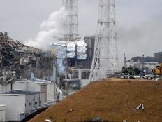 Λευκός ραδιενεργός καπνός βγαίνει από τον επικίνδυνο αντιδραστήρα 3 σήμερα το πρωί.