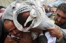 Από τη σημερινή αιματοχυσία στη Σαναά