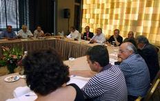 Από τη συνέντευξη Τύπου της ΓΣΕΕ και των προέδρων των ομοσπονδιών των ΔΕΚΟ