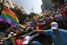 Φωτογραφία από την Παγκόσμια Ημέρα κατά της Ομοφοβίας (14 Μαϊου)