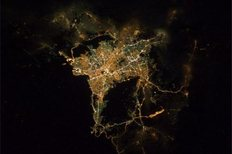 Διαστημικό ...παράθυρο στην Αθήνα.